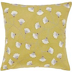 Sanderson - Olive cotton canvas Sanderson Home 'Batik Garden' cushion