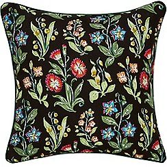 V & A - Multicoloured cotton sateen 'Campion' cushion