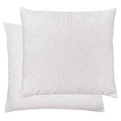 Harlequin - white 'Colette' cushion