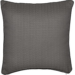 Helena Springfield - Dark grey polyester 'Eden' cushion