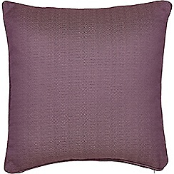 Helena Springfield - Purple polyester 'Eden' cushion