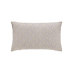 Sanderson - Lilac linen and cotton 'Laurie' cushion