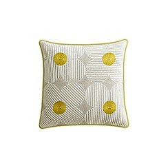 Helena Springfield - Yellow cotton 'Lula' cushion