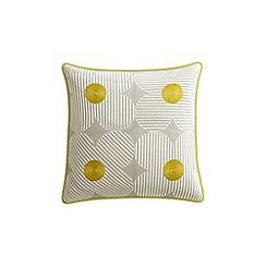 Helena Springfield - Yellow cotton 'Lula' cushion