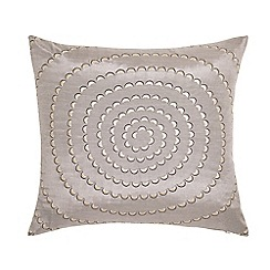 Harlequin - Silver polyester 'Motion' cushion
