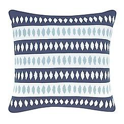 Scion - Blue acrylic 'Noukku' cushion