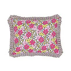 Helena Springfield - Pink polyester and cotton 'Penny' cushion