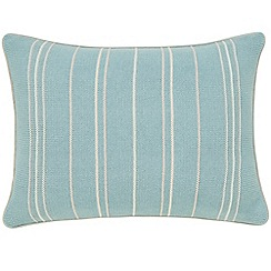 Sanderson - Light blue cotton Sanderson Home 'Pippin' cushion