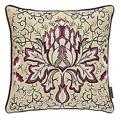 Morris & Co - purple 'Pimpernel' cushion