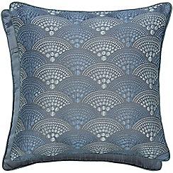 Hotel - Dark blue polyester 'Sanremo' cushion