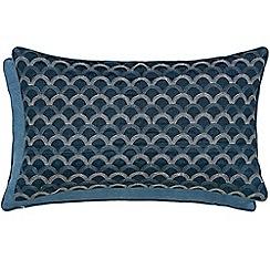 Hotel - Dark blue polyester 'Soller' cushion