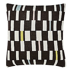 Scion - Grey cotton 'Sula' cushion