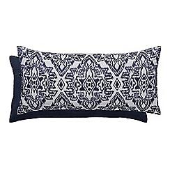Bedeck 1951 - Dark blue cotton 'Taj' cushion
