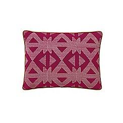 Bedeck 1951 - Dark red cotton 'Tamar' cushion