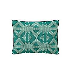 Bedeck 1951 - Dark green cotton 'Tamar' cushion