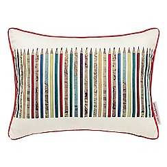 Little Sanderson - Kids' multicoloured 'Treasure Map Scribbler' cushion