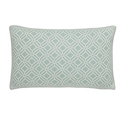 Sanderson - Light blue cotton Sanderson Home 'Wisteria Blossom' cushion