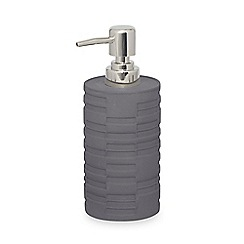 DKNY - Grey cement 'High Rise' hand lotion dispenser