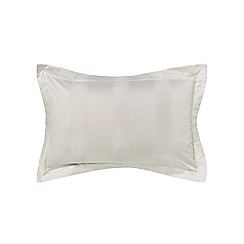 Hotel - Natural combed cotton 300 thread count 'Capella' Oxford pillow case