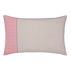 Helena Springfield - Multicoloured polyester and cotton 'Dot Penny' Standard pillow cases