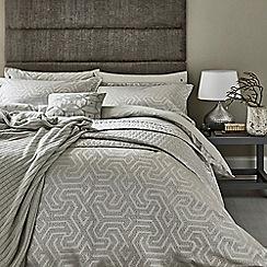 Bedeck 1951 - Natural polyester and cotton 'Kanza' duvet cover