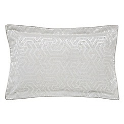 Bedeck 1951 - Natural polyester and cotton 'Kanza' Oxford pillow case
