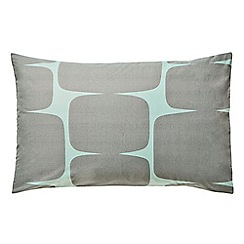 Scion - Light green cotton percale 'Lohko' Standard pillow cases