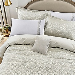 Helena Springfield - Natural Cotton And Polyester 'Laurel' Duvet Cover