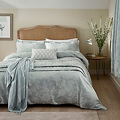 Sanderson - Light blue cotton and polyester Sanderson Options 'Lyon' duvet cover