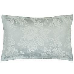Sanderson - Light blue cotton and polyester Sanderson Options 'Lyon' Oxford pillow case