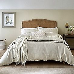 Sanderson - Natural cotton and polyester Sanderson Options 'Lyon' duvet cover