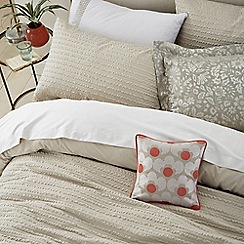 Helena Springfield - Natural microfibre polyester 'Mabel' duvet cover