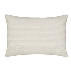 Helena Springfield - Natural microfibre polyester 'Mabel' Standard pillow case