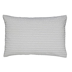 Helena Springfield - Silver microfibre polyester 'Mabel' Standard pillow case