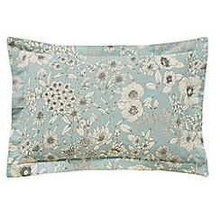 Sanderson - Light blue cotton Sanderson Home 'Maelee' Oxford pillow case