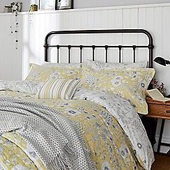 Sanderson - Light yellow cotton Sanderson Home 'Maelee' duvet cover