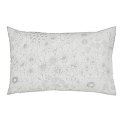 Sanderson - Light grey cotton Sanderson Home 'Maelee' Standard pillow cases
