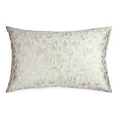 DKNY - Natural cotton sateen 220 thread count 'Motion' Standard pillowcases