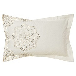 Harlequin - Beige printed 'Odetta' Oxford pillow case