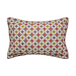Bedeck 1951 - Multicoloured cotton and polyester percale 180 thread count 'Otto' Oxford pillow case