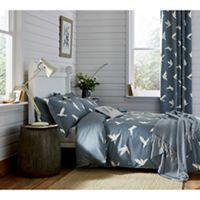 Ben de lisi home multicoloured printed world explorer bedding set sanderson dark blue cotton sanderson home paper doves duvet cover gumiabroncs Choice Image