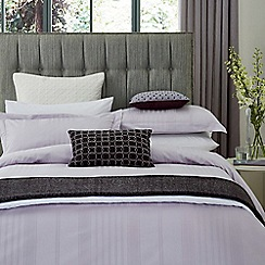 Hotel - Light purple combed cotton 300 thread count 'Sakala' duvet cover