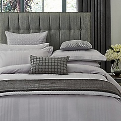 Hotel - Silver combed cotton 300 thread count 'Sakala' duvet cover