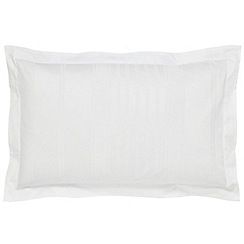 Hotel - White combed cotton 300 thread count 'Sakala' Oxford pillow case