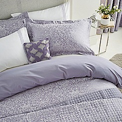 Helena Springfield - Light purple cotton and polyester  Sylvie  duvet cover