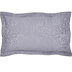 Helena Springfield - Light purple cotton and polyester  Sylvie  Oxford pillow case