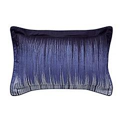 Bedeck 1951 - Dark blue cotton sateen 180 thread count 'Taj' Oxford pillow case