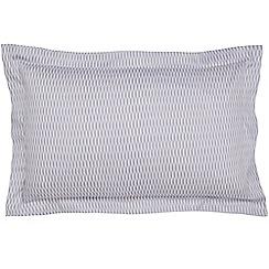 Hotel - Light purple cotton sateen 300 thread count 'Zella' Oxford pillow case