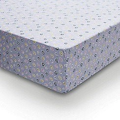 Helena Springfield - Multicoloured polyester and cotton 'Pixie Melody' fitted sheet