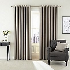 Hotel - Natural polyester 'Barcelo' lined curtains